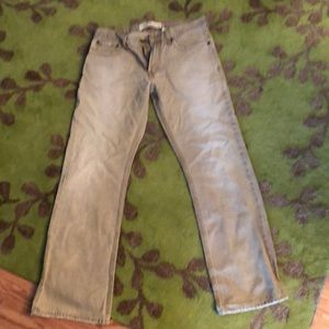 Levi's 527 bootleg cut khaki/tan denim 32/32